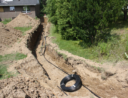 Geothermal Ground Loop Installation