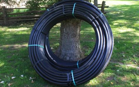 Geothermal Heating and Cooling Pipe Installation